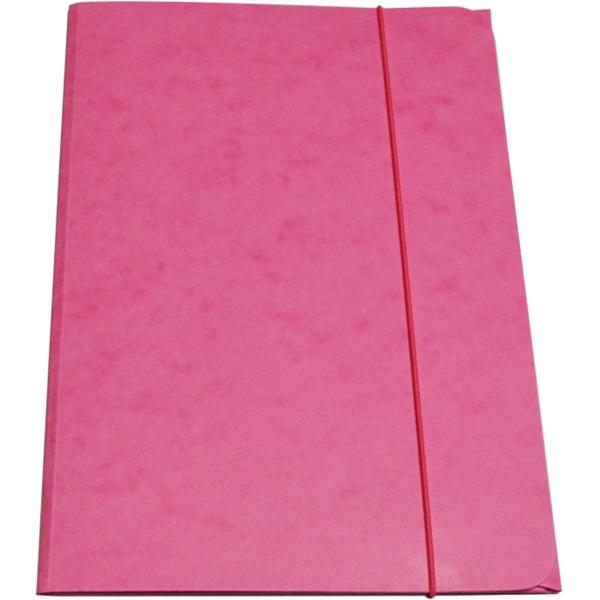 CAM A4 prespán pink gumis mappa - 1