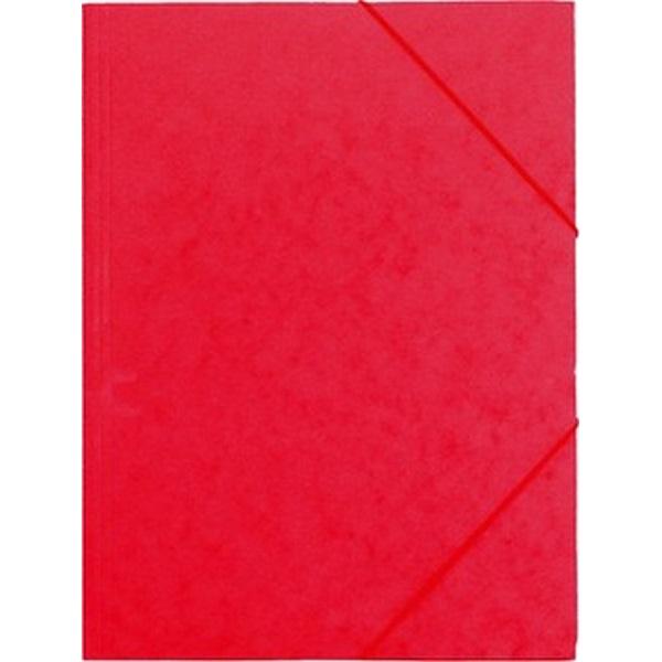 CAM A4 prespán piros gumis mappa - 1