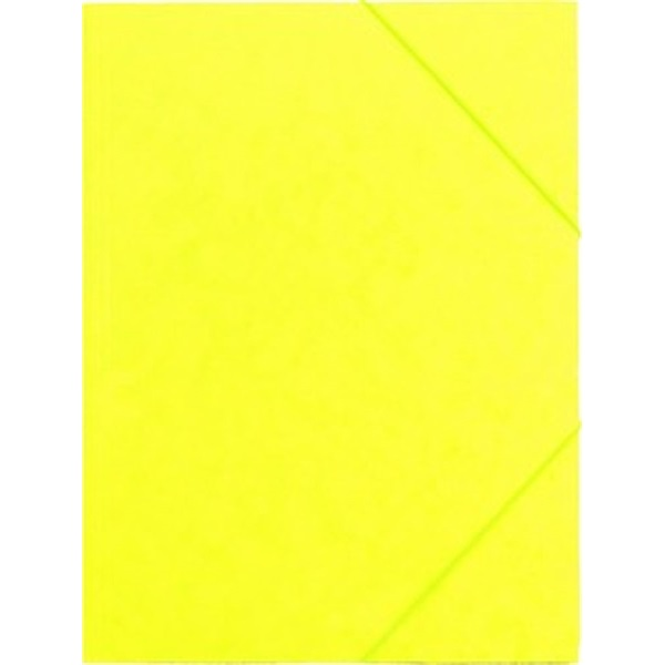 CAM A4 prespán sárga gumis mappa - 1