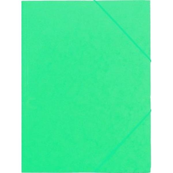 CAM A4 prespán zöld gumis mappa - 1