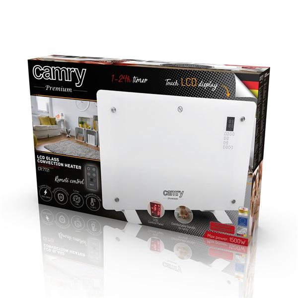 Camry CR7721 LCD kijelzős üveg hősugárzó - 6