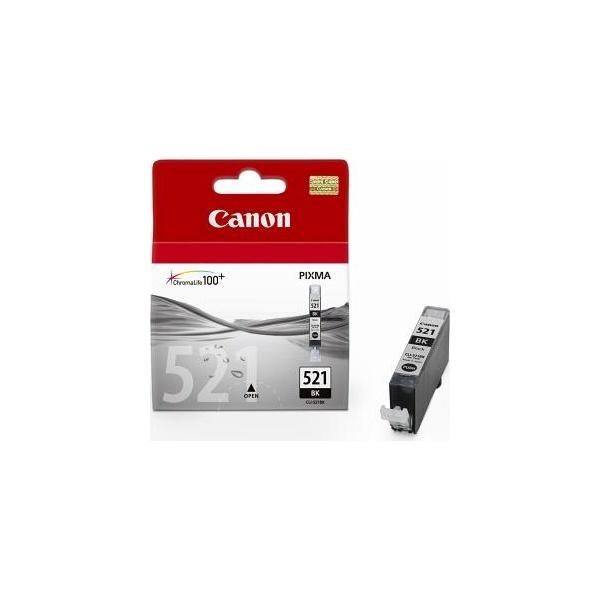 Canon CLI-521Bk fekete tintapatron - 1