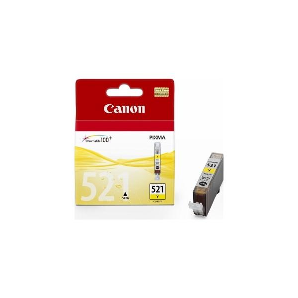 Canon CLI-521Y sárga tintapatron - 1