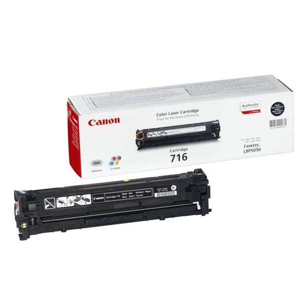 Canon CRG-716Bk fekete toner - 1