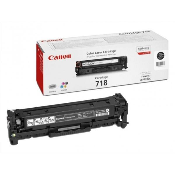 Canon CRG-718Bk fekete toner - 1