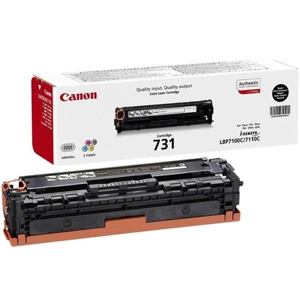 Canon CRG-731Bk fekete toner - 1