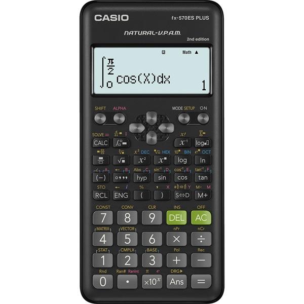 Casio FX-570ES Plus tudományos számológép - 1
