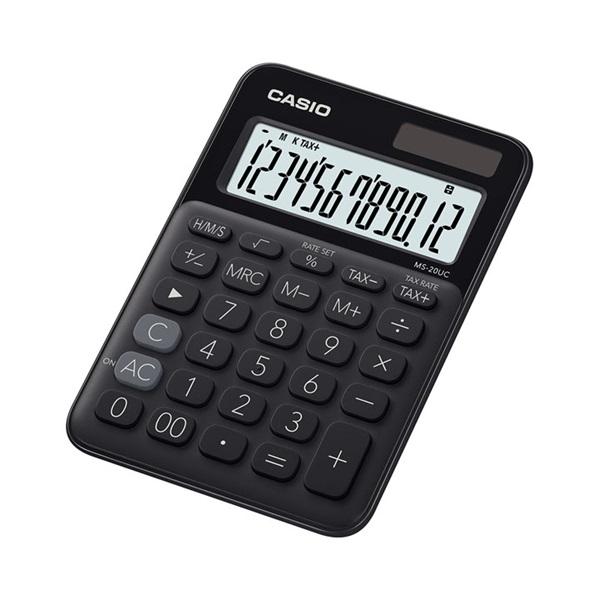 Casio MS-20UC-BK asztali számológép - 1