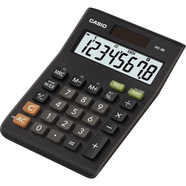 Casio MS-8B Asztali számológép - 1
