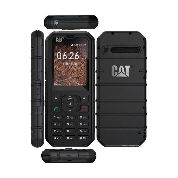 CAT B35 2,4 Dual SIM fekete csepp-, por- és ütésálló mobiltelefon - 1