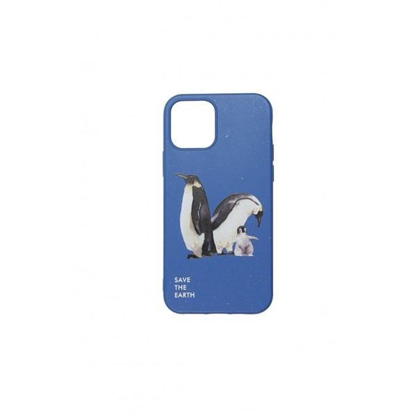 Cellect CEL-GREENIPH1261DBPG GoGreen iPhone 12 6,1 sötétkék tok - 1