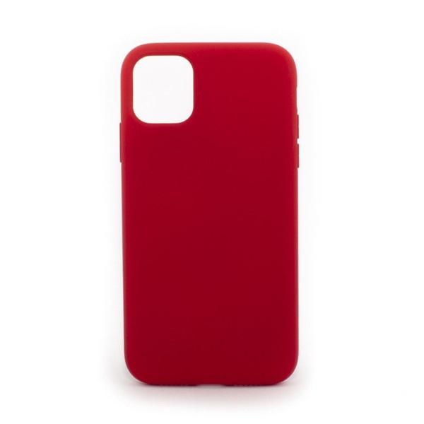 Cellect CEL-PREM-IPH1267-R iPhone 12 piros prémium szilikon tok - 1