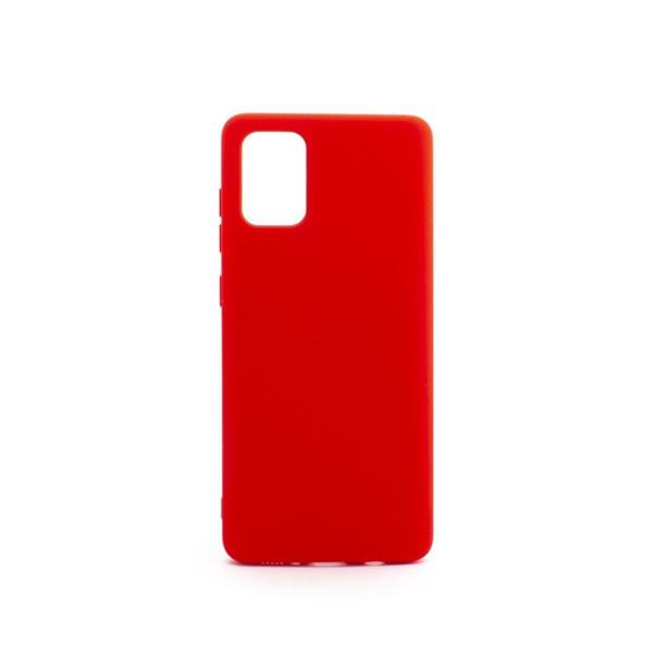 Cellect CEL-PREMSIL-P40L-R Huawei P40 Lite piros prémium szilikon tok - 1