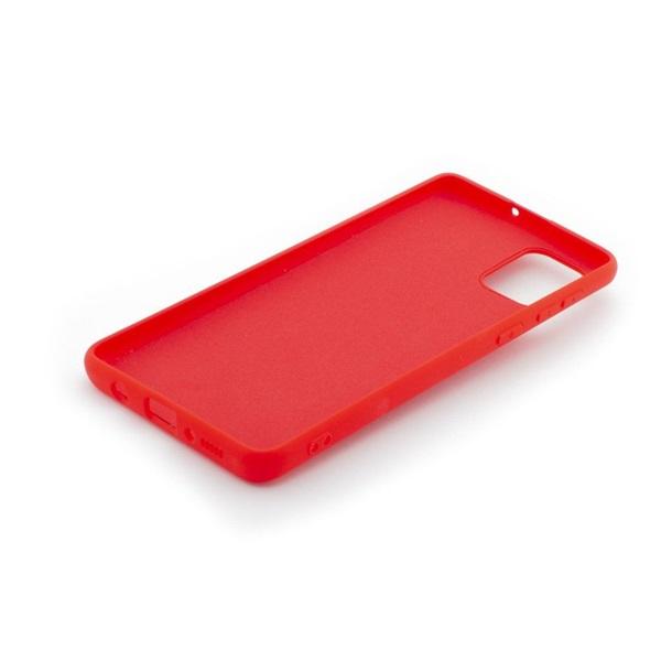 Cellect CEL-PREMSIL-P40L-R Huawei P40 Lite piros prémium szilikon tok - 2