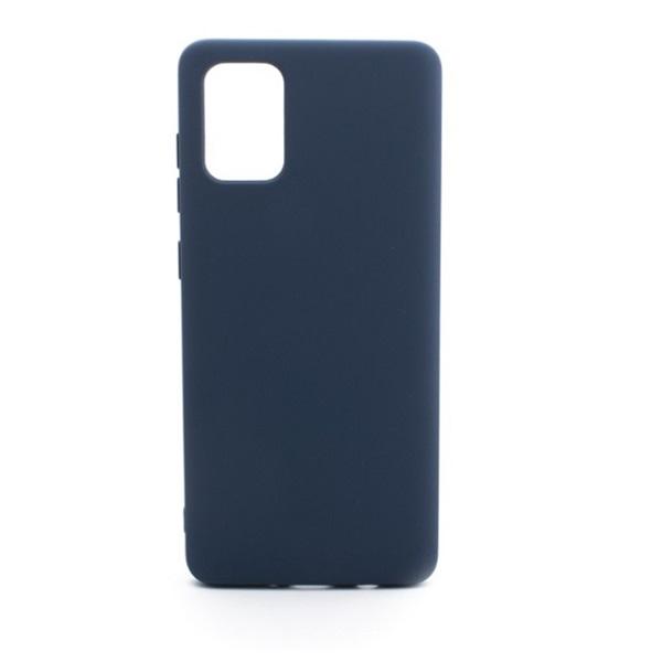 Cellect CEL-premSIL-SAMA51BL Samsung A51 kék prémium szilikon hátlap - 1