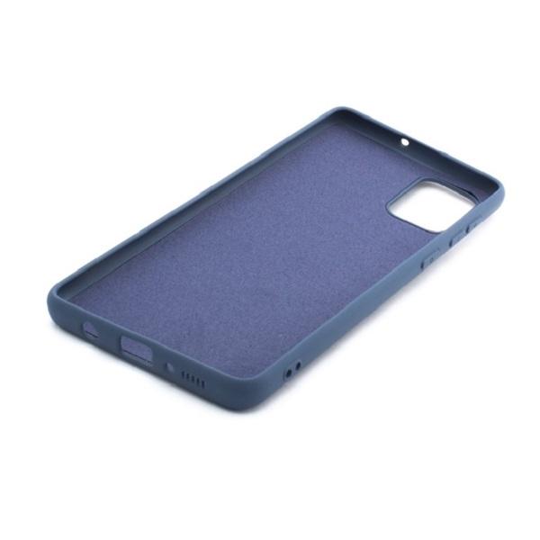 Cellect CEL-premSIL-SAMA51BL Samsung A51 kék prémium szilikon hátlap - 2