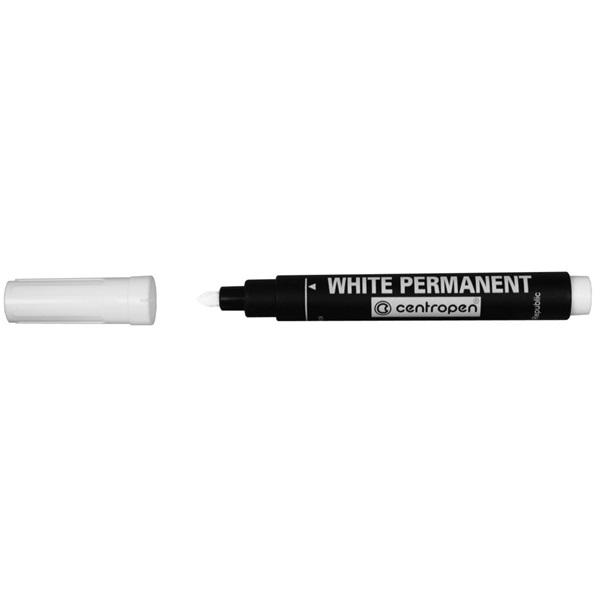 Centropen 8586 fehér permanent marker - 1