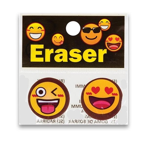 Centrum Emojidex bliszteres 2db/csomag radír - 1