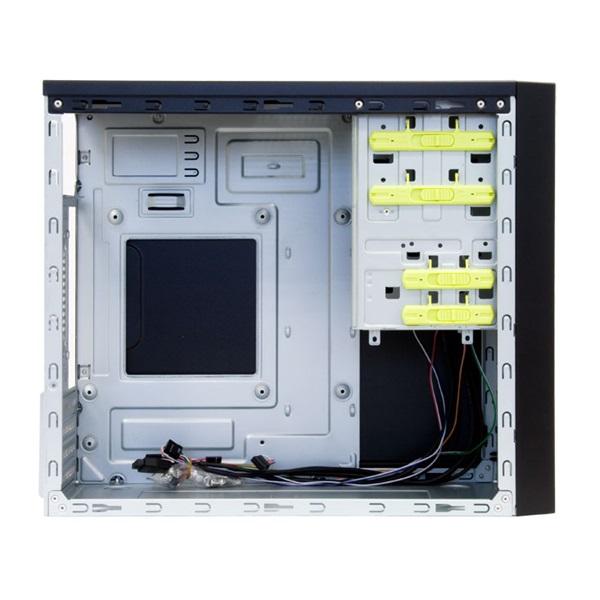 Chieftec CT-01B-OP táp nélküli fekete mATX ház - 3