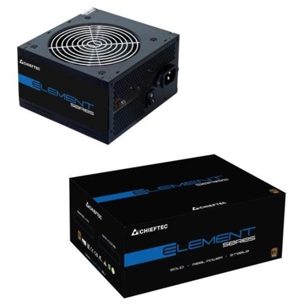 Chieftec Element ELP-400S 400W 85+ PFC 12 cm ventilátorral tápegység - 1