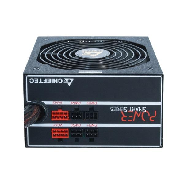 Chieftec GPS-550C 550W 80+ GOLD PFC 12 cm ventilátorral dobozos tápegység - 6