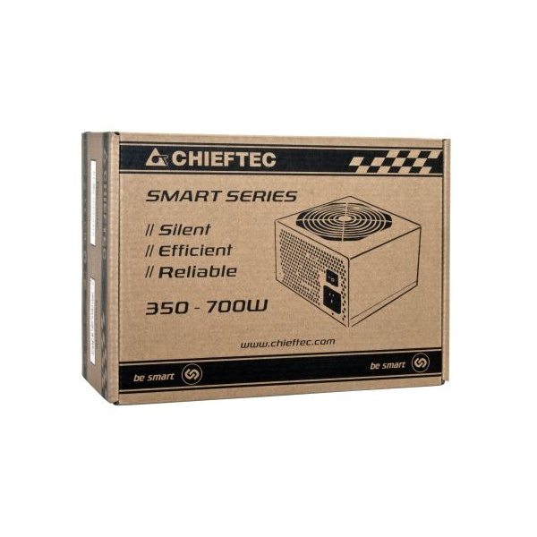 Chieftec GPS-700A8 700W PFC 12 cm ventilátorral dobozos tápegység - 2