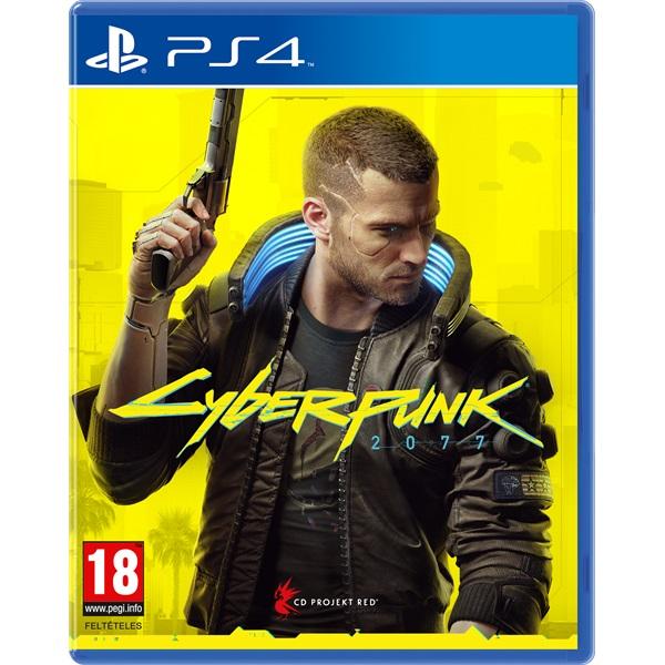 Cyberpunk 2077 PS4 játékszoftver - 1