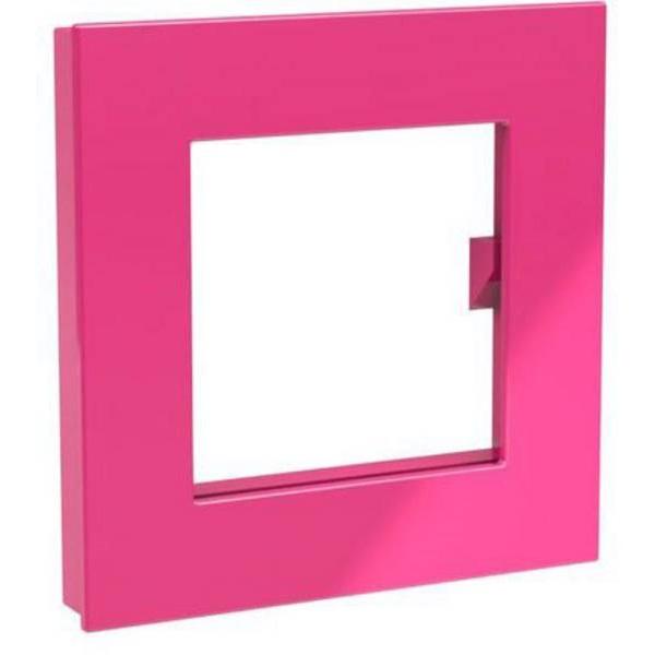 Dahle Mega XL 75x75mm négyzet alakú rózsaszín mágnes fénykép keret - 1