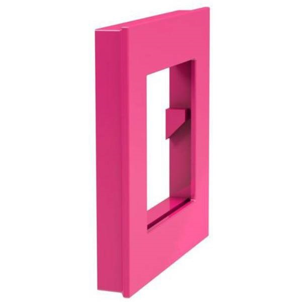 Dahle Mega XL 75x75mm négyzet alakú rózsaszín mágnes fénykép keret - 2
