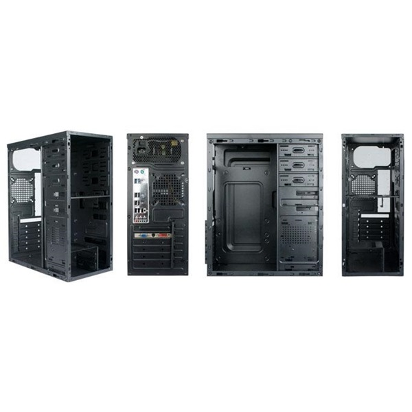 Danubius C3101 Fekete 450W  ATX ház - 1