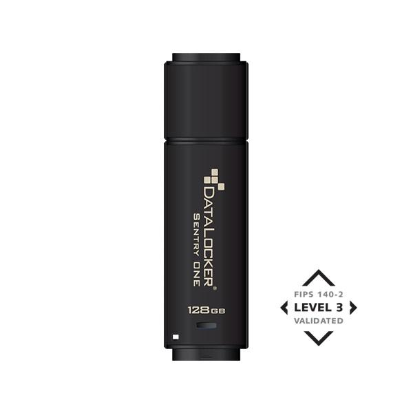 DataLocker 16GB USB3.1 Sentry One Encrypted FIPS 140-2 Level 3 (SONE016) Flash Drive - 1