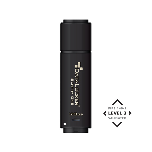 DataLocker 64GB USB3.1 Sentry One Encrypted FIPS 140-2 Level 3 (SONE064) Flash Drive - 1