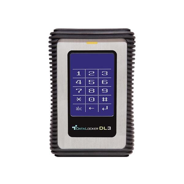 DataLocker DL3 2,5 2TB USB3.0 titkosított külső winchester - 1