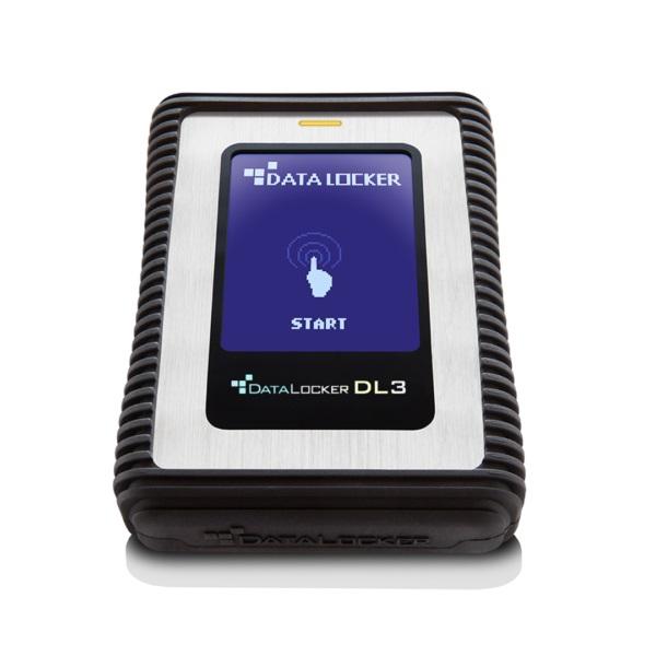 DataLocker DL3 2,5 2TB USB3.0 titkosított külső winchester - 2