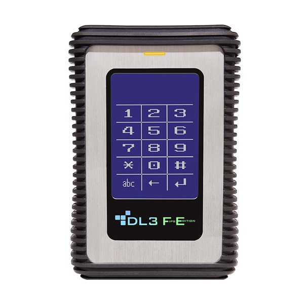 DataLocker DL3 FE 2,5 500GB USB3.0 FIPS titkosított külső winchester - 1