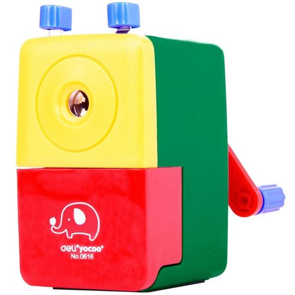 Deli 616 asztali színes hegyezőgép - 1