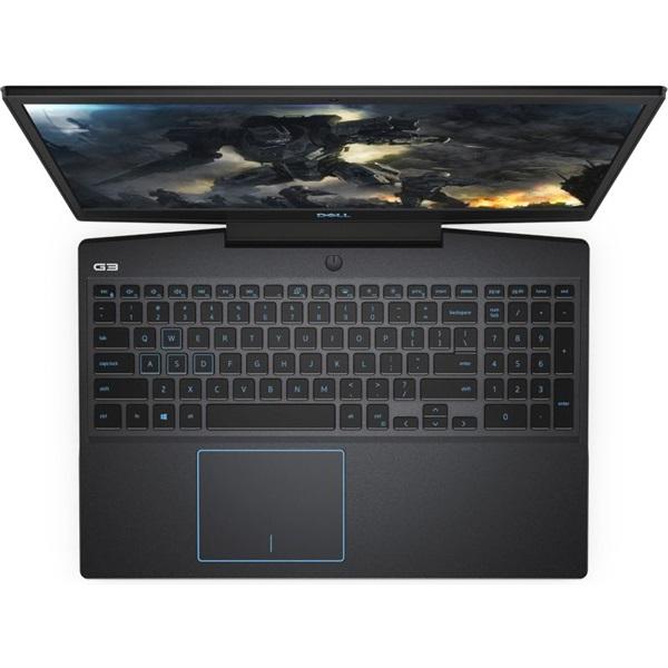Dell G3 3500 laptop (15,6FHD/Intel Core i5-10300H/GTX 1650Ti 4GB/8GB RAM/1TB SSD/Linux) - fekete - 2