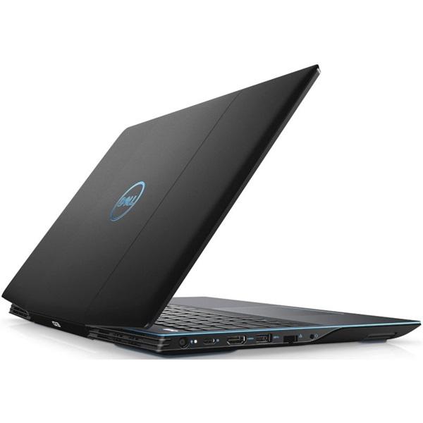 Dell G3 3500 laptop (15,6FHD/Intel Core i5-10300H/GTX 1650Ti 4GB/8GB RAM/1TB SSD/Linux) - fekete - 3