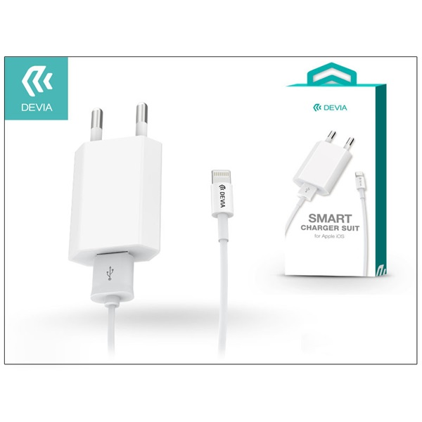 Devia ST000515 Smart Lightning 1m hálózati töltő - 1