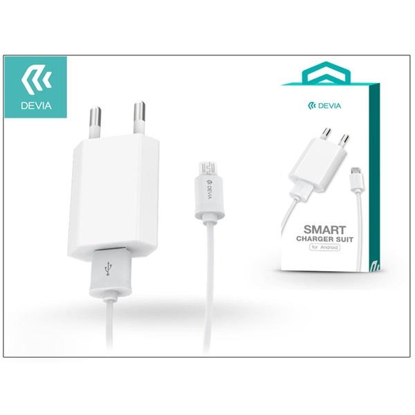 Devia ST002960 Smart microUSB hálózati töltő - 1