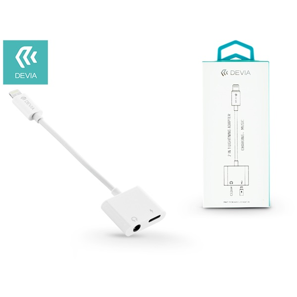 Devia ST313127 Smart 2in1 USB Type-C/Jack 3,5mm adapter - 1