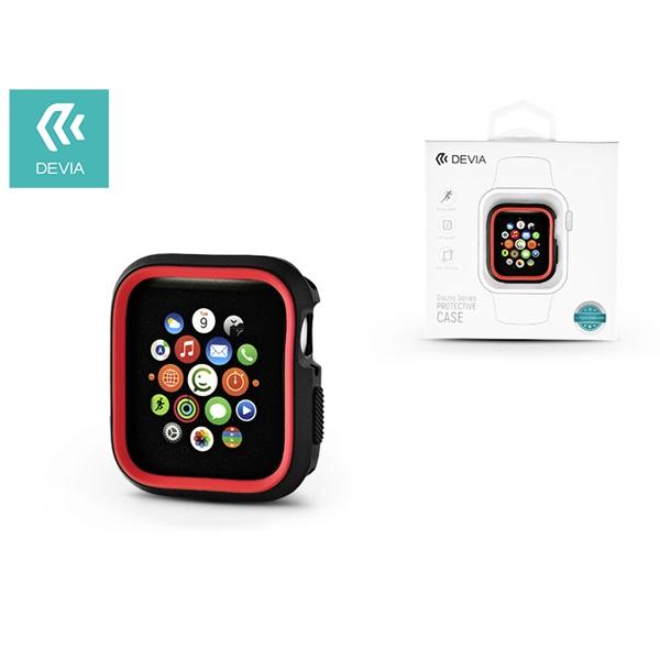 Devia ST323850 Dazzle Apple Watch 4 40mm fekete/piros védőtok - 1
