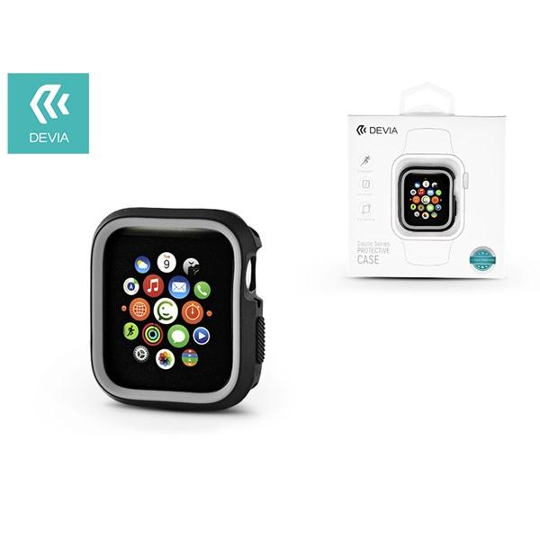 Devia ST323898 Dazzle Apple Watch 4 40m fekete/szürke védőtok - 1