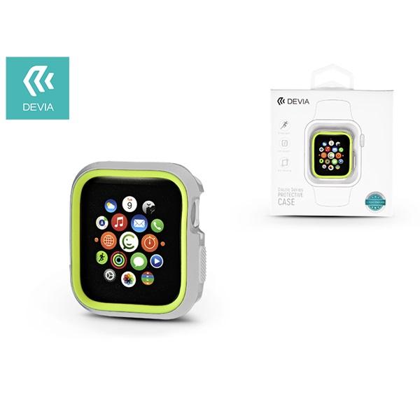 Devia ST323935 Dazzle Apple Watch 4 44m ezüst/zöld védőtok - 1