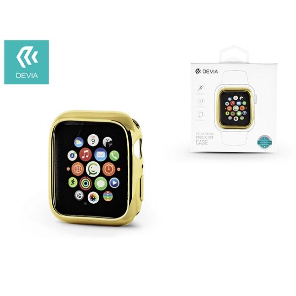 Devia ST323997 Apple Watch 4 44mm arany védőtok - 1