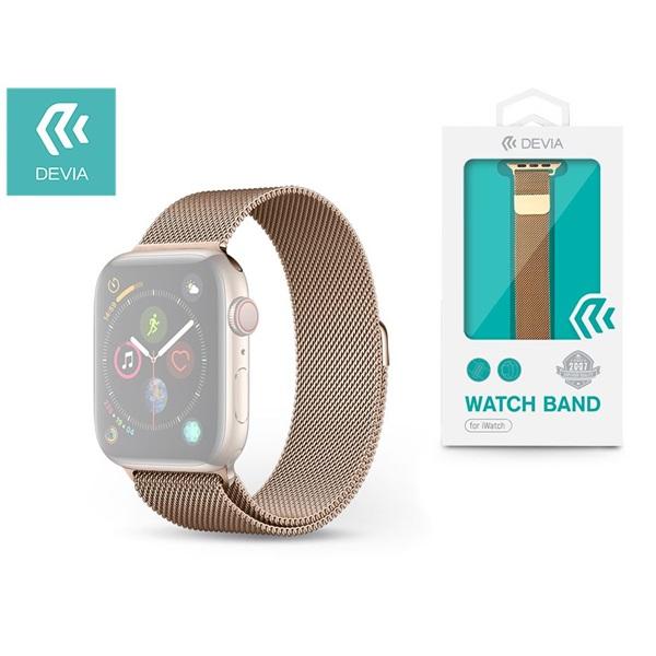 Devia ST325069 Apple Watch arany fém óraszíj - 1