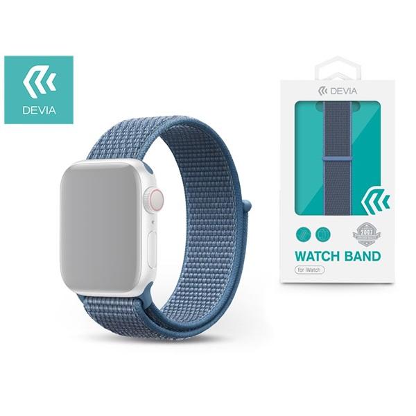 Devia ST326295 Apple Watch kék sport óraszíj - 1