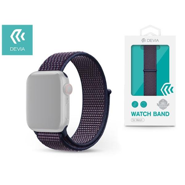 Devia ST326325 Apple Watch indigó sport óraszíj - 1