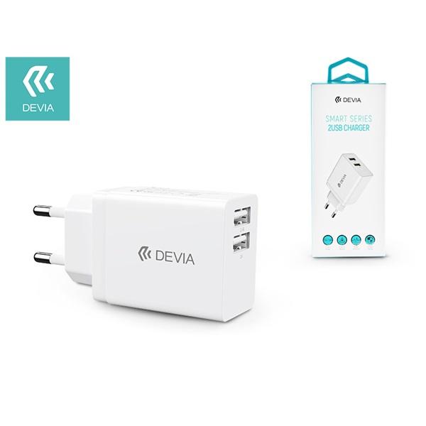 Devia ST329593 Devia Smart 2xUSB  kimenettel hálózati töltő - 1