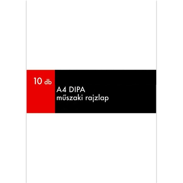 Dipa A4 10db rajzkarton - 1